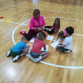 Sporta nodarbības pirmsskolas izglītojamajiem